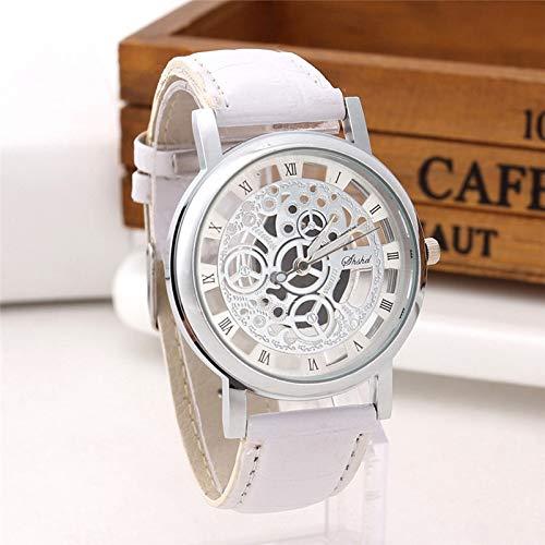 jiushixw Relogios Masculino Reloj de Negocios para Hombres Banda de Cuero de PU aleación analógica Relojes de Pulsera de Cuarzo Reloj de Hombre Reloj erkek KOL saati N40