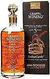 Distillerie Nonino, AnticaCuvée Cask Strength Grappa Riserva aged 5 years, invecchiata da 5 a 20 anni in barriques e piccole botti.