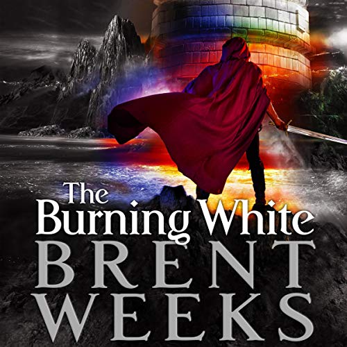 Couverture de The Burning White