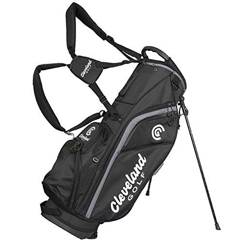 Cleveland 12102378 Golftasche für Herren, Schwarz/Grau, Einheitsgröße