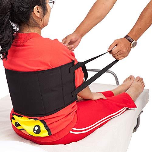 Gait Belts Transfer Belts, Thicken Padded Transfer Sling, Patient Lift Sling Gait Belt for Seniors, Soft Moving Assist Hoist Harness Device, Medical Belt for Wheelchair, Bed ZYD02