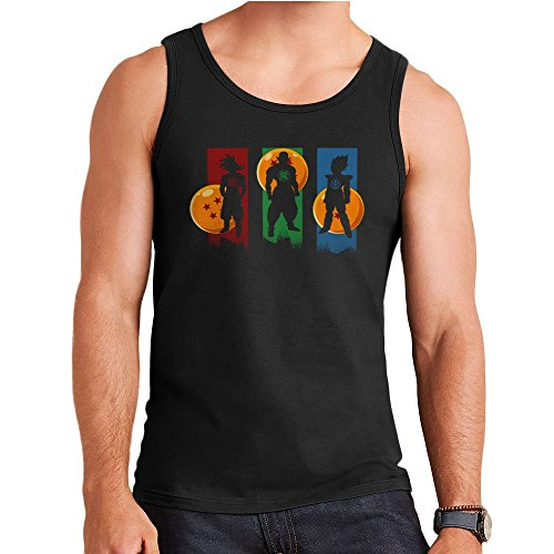 The Core Team Dragonball Z Goku Vegeta Piccolo Men's Vest