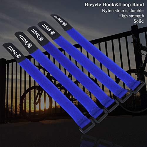 Chennie 5 Teile/Satz duuti 25 cm fahrradgurt universalgurt mit Nylon Klettband - 9