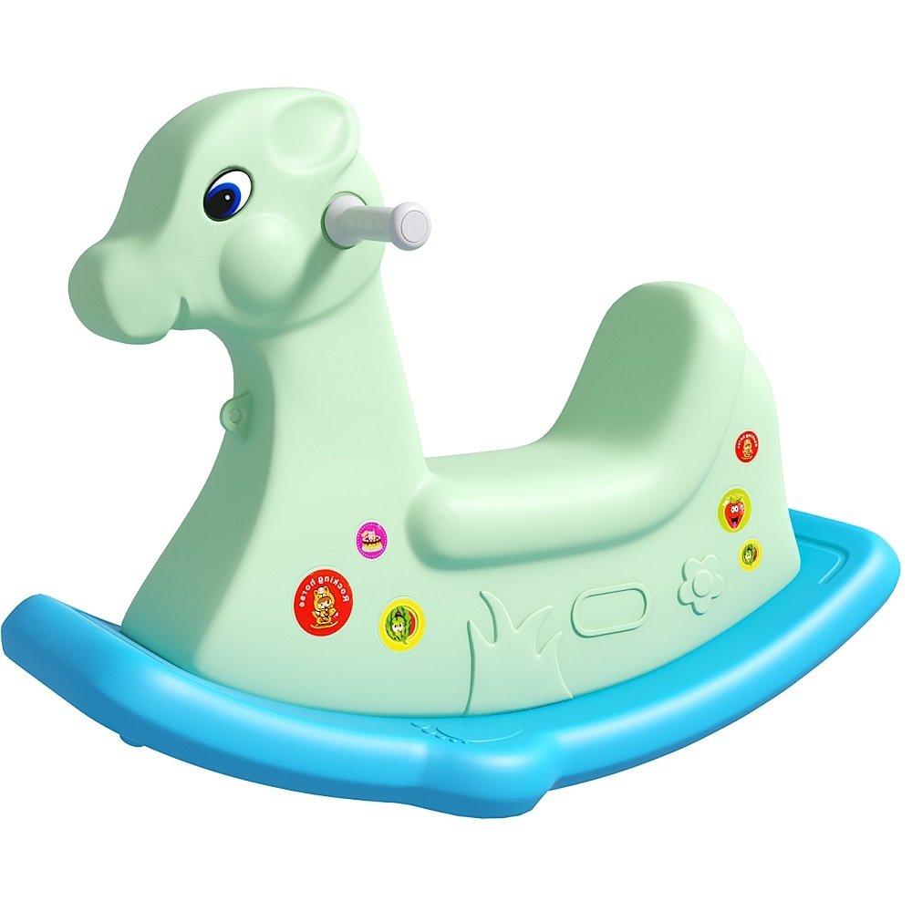 七彩阳光 儿童木马摇马玩具宝宝摇摇马塑料大号加厚婴儿1-2周岁