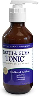 Dental Herb Company Tooth and Gums Tonic 18 ounce bottle with dispenser pump bundle