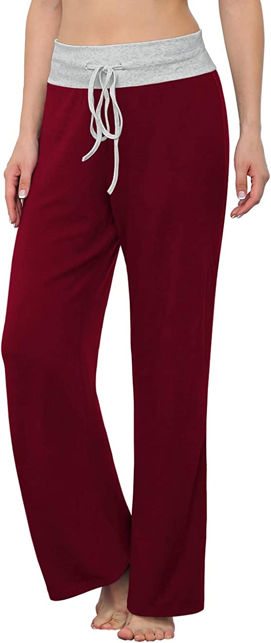 LONGYUAN Women's Comfy Pajama Pants Max outlet 44% OFF Pant Drawstri Stretch Casual