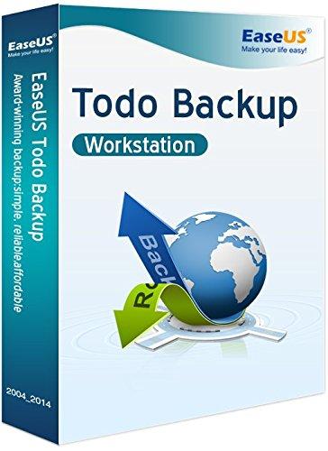 EaseUS Todo Backup Workstation WIN (Product Keycard ohne Datenträger)- Lifetime Lizenz