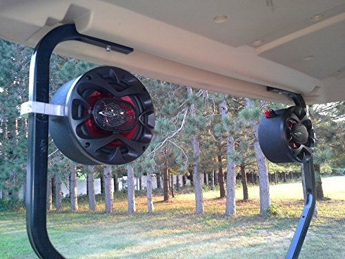Golf Cart Speakers EZ GO Club Car Yamaha Radio Stereo Pods Enclosures