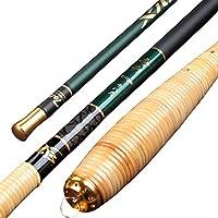 釣り道具セット 釣り竿カーボン釣り竿超軽量超硬伸縮式ポータブルストリーム釣り竿 最高の贈り物 (Size : 4.8M)