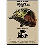 ZNNHEROFull Metal Jacket Filmplakat 1987 Vintage Poster