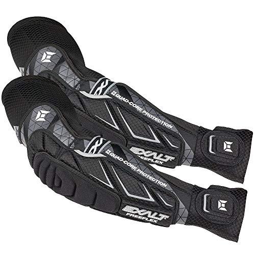 FreeFlex Elbow Pads/Arm Pad (Black, Large)
