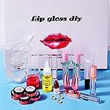 luminiu 31 PCS Pigment Gloss Base De Gloss, Clear Lip Gloss Base Oil Non-Stick DIY...