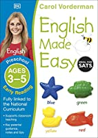 English Made Easy Early Reading Ages 3-5 Preschool (Made Easy Workbooks)