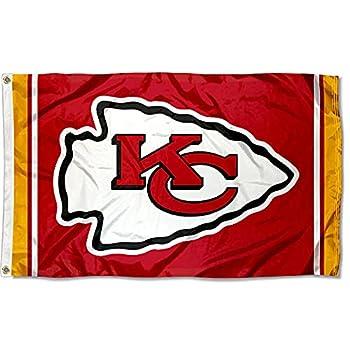 WinCraft Kansas City Chiefs KC Large 3x5 Flag
