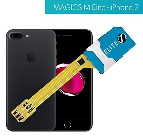 MAGICSIM ELITE für iPhone 7/8 - Dual SIM Adapter