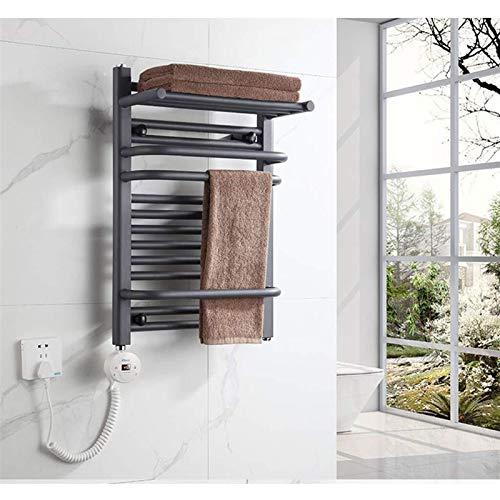 ZXCV Secador De Toallas De Pared Barra De Calentamiento Termostático Inteligente para El Hogar Toalla De Baño Secado Calefacción Calefacción Ahorro De Energía Caja Fuerte E Impermeable