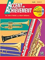 Alfred Publishing 00-18255 Accent on Achievement Book 2 - Music Book