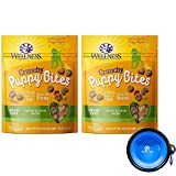 Wellness Puppy Bites for Dogs Bundle 2 Pack - 12 oz. (Chicken Carrots)