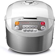 طنجرة طبخ الارز من تشكيلة فيفا فازي لوجيك من فيليبس بلون فضي، موديل HD3038 مصنوعة من مواد متعددة