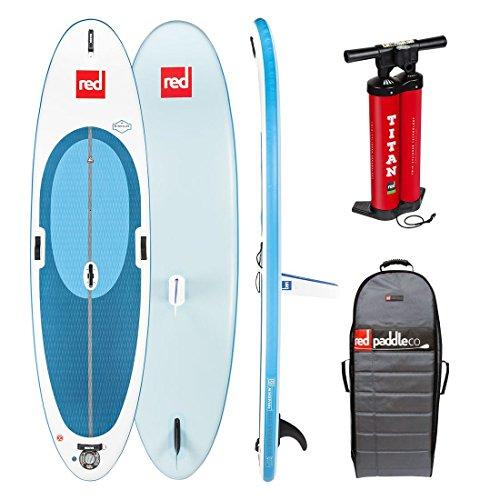 Red Paddle Ride Windsurf mit Schwert 10'7' MSL Sup, Adultos Unisex,...