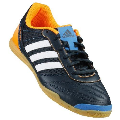 Adidas - Zapatilla freefootball supersala, talla 44 2/3, color negra/naranja