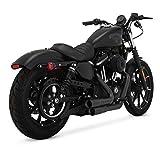 Scarichi Marmitte Mini Grenades Vance & Hines Neri x Harley Davidson Sportster XL, Superlow XL883L, Sportster 883R, Iron 883 XL883N, Forty-Eight XL1200X, Seventy-Two DAL 2004 in poi