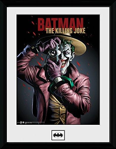 DC Comics GB Eye LTD, Batman Comic, Kiling Joke Portrait, Fotografía enmarcada 30 x 40 cm