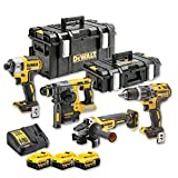 DeWalt DCK422P3-QW Kit 4 outils XR 18V 5Ah Li-Ion Brushless