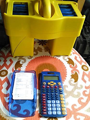 TI 15 Explorer Calculator Teacher Kit 10 Count
