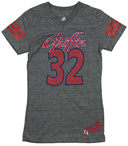 Los Angeles Clippers NBA grandes niñas Blake Griffin # 32 de manga corta Fashion camiseta, color gris, gris