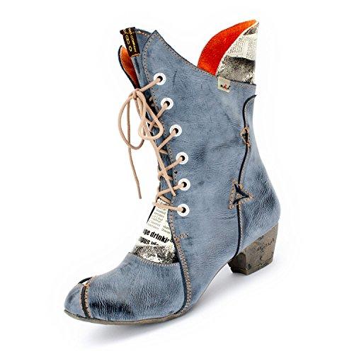 TMA Damen-Stiefel 7011 Blaugrau 38