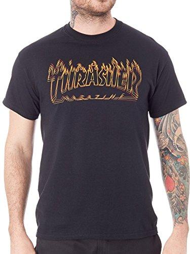 THRASHER Camiseta Richter BLK