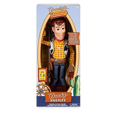 Disney Personaggio SNODABILE PARLANTE INTERATTIVO Woody Toy Story