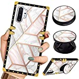 Luxury Square Phone Case Samsung Galaxy Note 10+Plus/Note