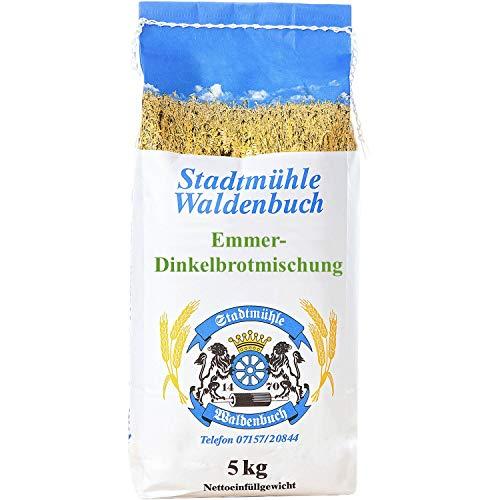 Emmer Dinkelbrotmischung 5 kg feinste Bäckerqualität | ohne Zusatzstoffe