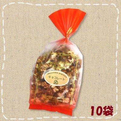 手作り チョコレート ポップコーン 100g×10袋【シンコー食産】
