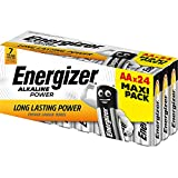 Energizer Aa Pack Of 24 Alkaline Batteries E300456400