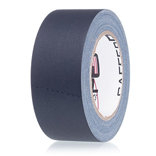 Real Professional Premium Grade Gaffer Tape by Gaffer Power - Made in The USA - Black 2 Inch X 30 Yards - Heavy Duty Gaffers Tape Plus - 11.5 mils - Better Than Duct Tape - Powerful Adhesive Tape