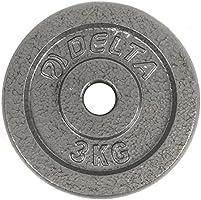 Delta Elite Döküm Plaka, Gri, 2 x 3 kg