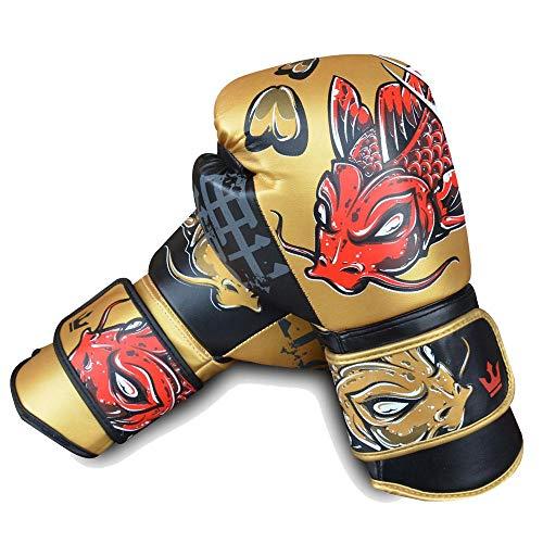 Guantes de Boxeo Muay Thai Kick Boxing Buddha Fantasy Koy