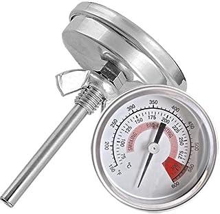 Ecloud Shop® バーベキューピット喫煙グリル温度計の温度計