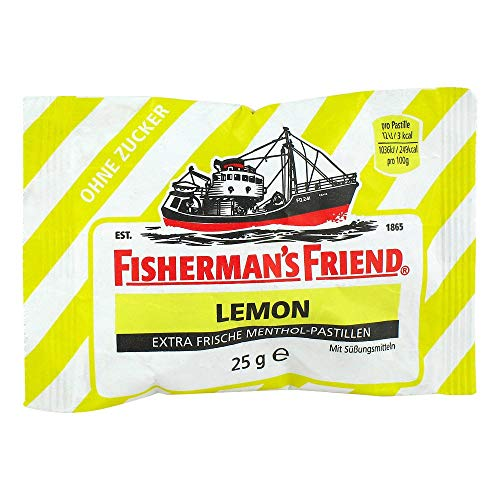 FISHERMANS Friend Lemon o.Z. Pastillen, 25 g