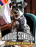 Miniature Schnauzer Coloring Book: A Cool Coloring Book With Many Illustrations Of Miniature Schnauzer For Fans of All Ages To Relax And Relieve Stress