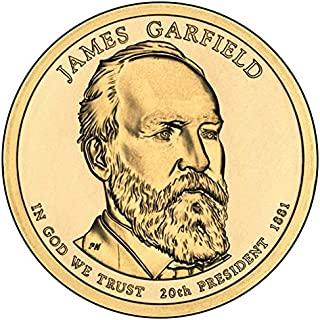 1881 garfield dollar coin