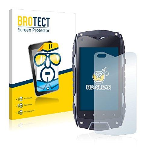 BROTECT Schutzfolie kompatibel mit Bestore Z6 (2 Stück) klare Bildschirmschutz-Folie