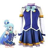 SShuangxu Anime KonoSuba God's Blessing Cosplay Costumes Satou Kazuma KonoSuba Megumin Aqua Uniforms Halloween Party