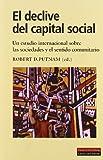 El declive del capital social (Ensayo)
