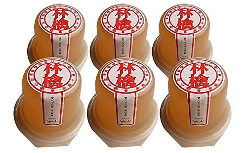 お子様の安心おやつ 無添加 津軽産直のりんご 寒天ゼリー 95g×6個 セット<夏季限定品>★ コンパクト ★ 凍らせてシャーベットに ★青森県・津軽産直組合のりんごを使ったさわやかな寒天ゼリーです。原材料はりんご果汁、洗双糖、糸寒天、レモン果汁のみ。添加