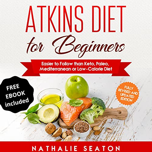 Atkins Diet for Beginners cover art