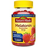 Nature Made Melatonin 10 mg Gummies, 70 Count of Melatonin Gummies for Supporting Restful Sleep